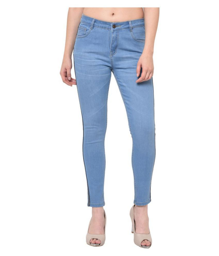 2Bme Cotton Jeans - Blue