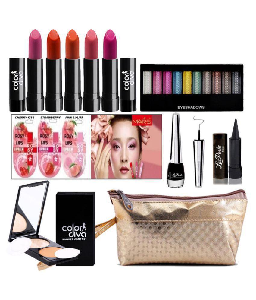 Adbeni Summer Vacation Combo Offer Makeup Set Pack of 13 Makeup Kit 43