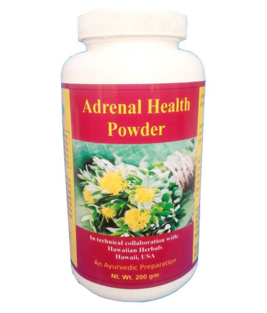 hawaiian herbal adrenal health powder- 1 Same Drops Free Powder 200 gm