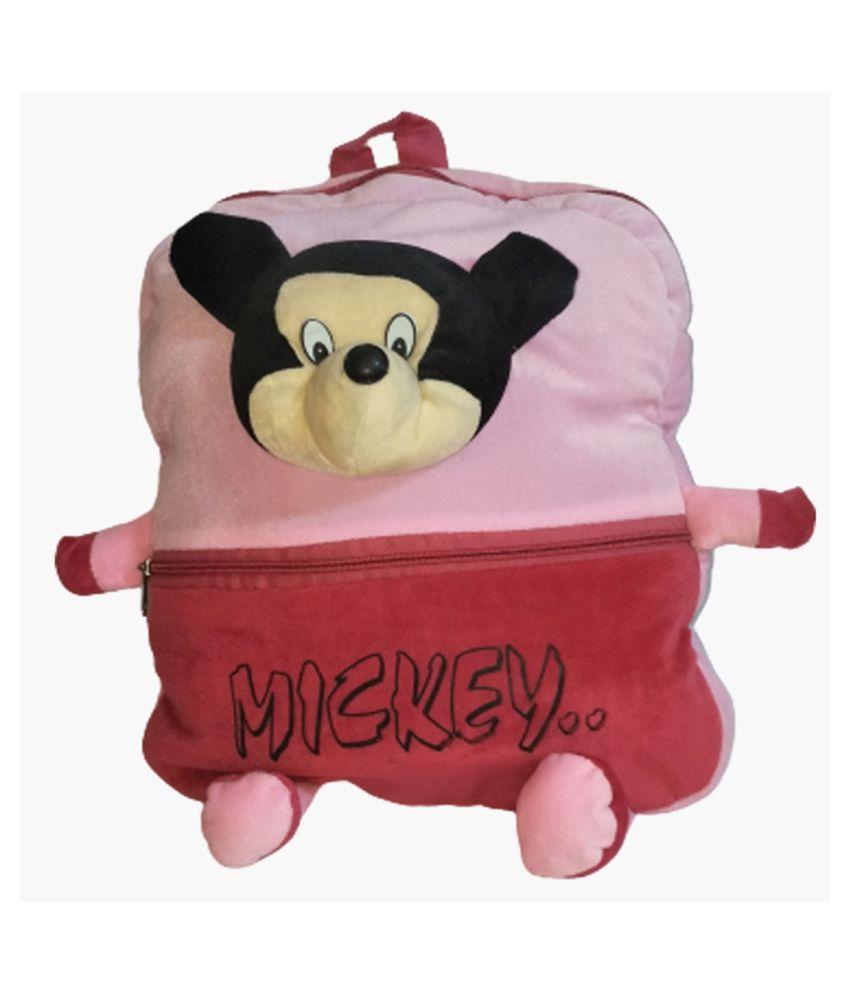 Sirji Pink School Bag for Boys & Girls