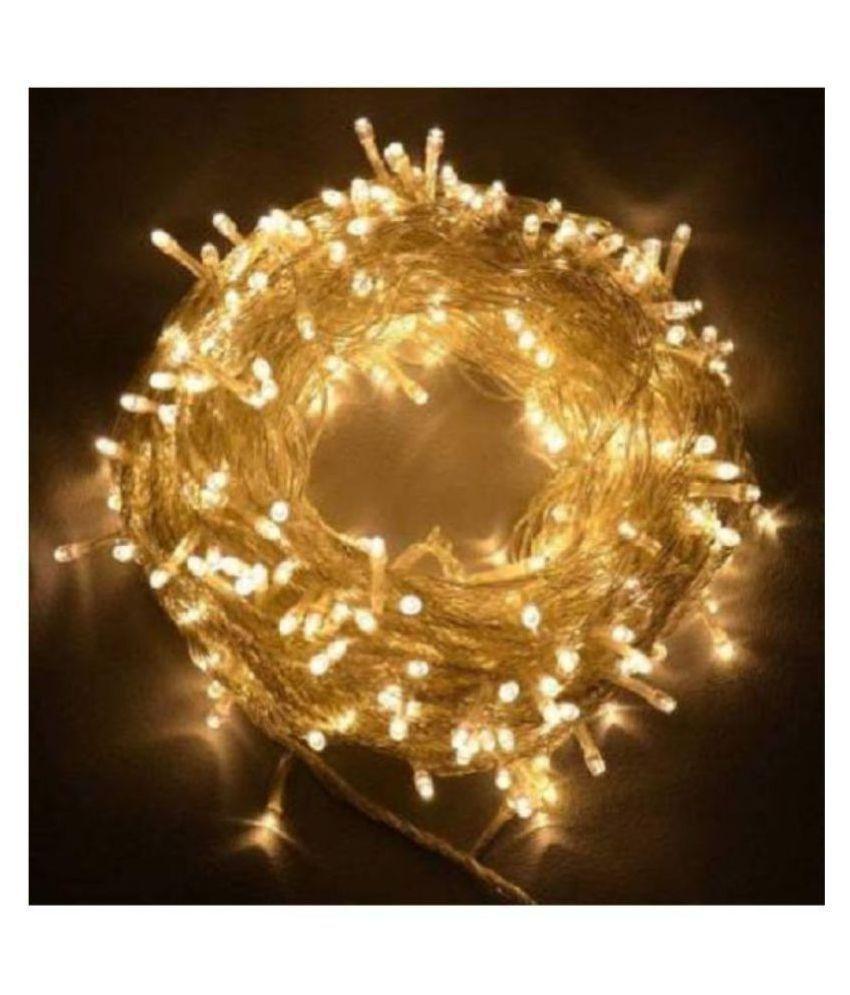 Emm Emm 40 Feet Golden Pixel Flash Led Ladi String Lights Gold