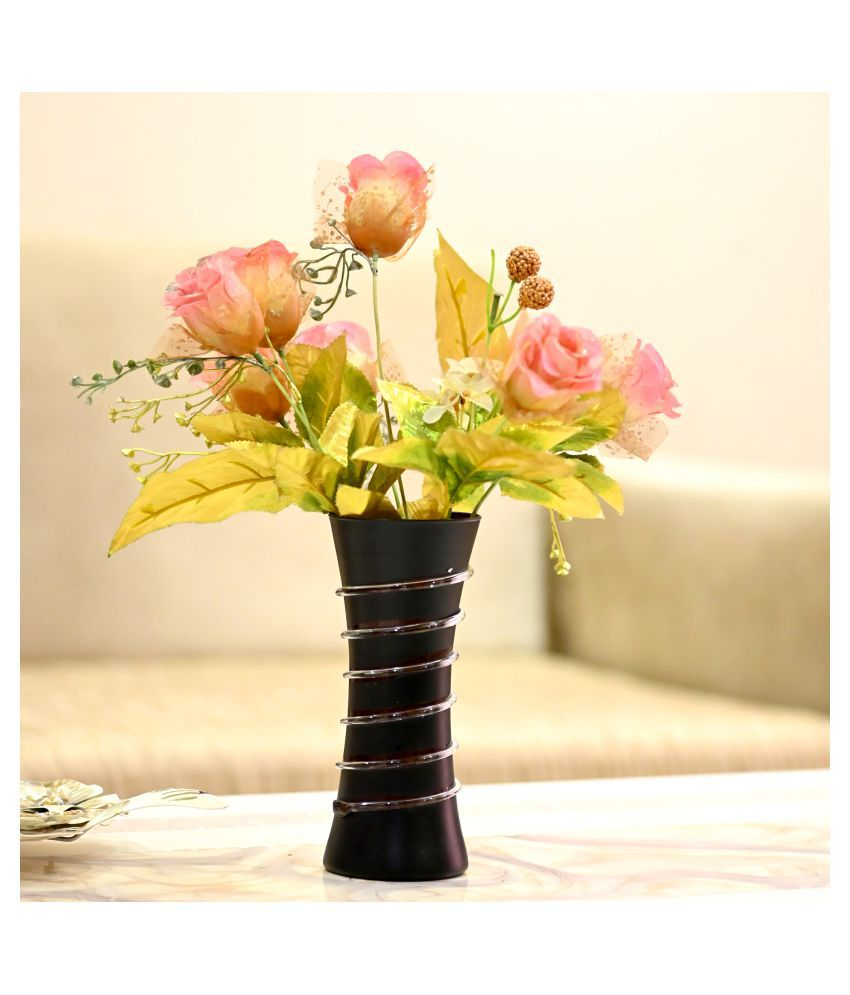 Somil Glass Table Vase 24 cms - Pack of 1