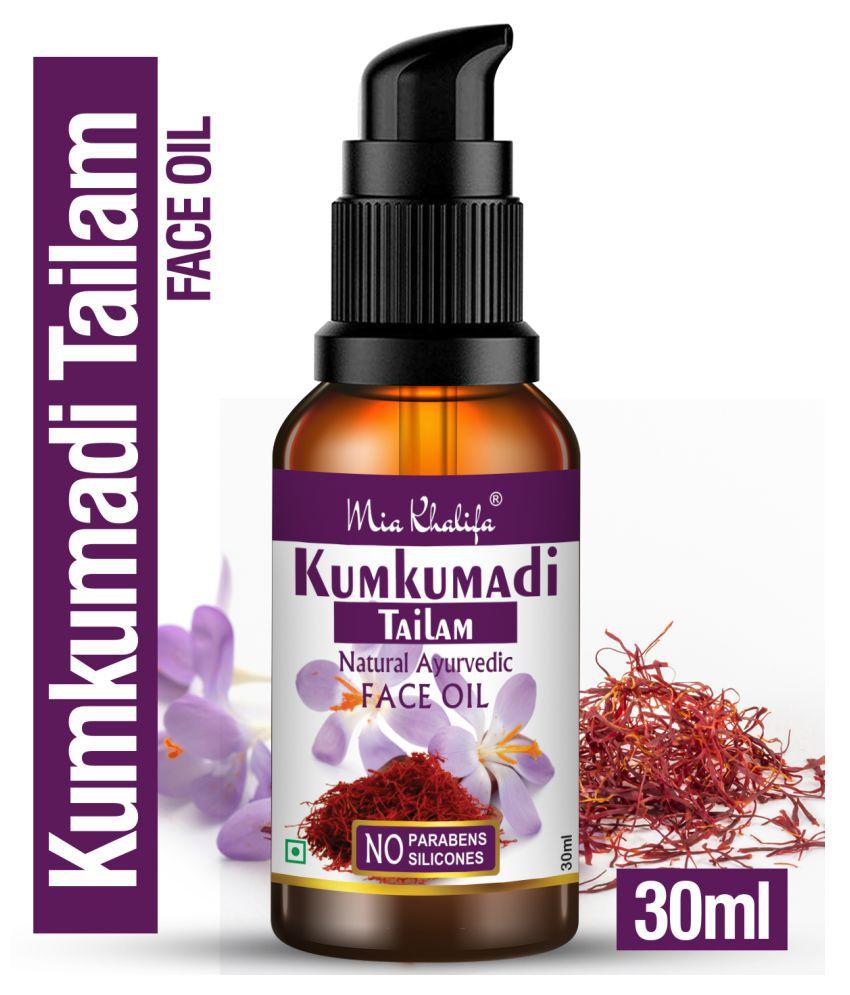 Mia Khalifa Pure Kumkumadi Tailam For Radiant Skin For Brightens, Healthy Face Serum 30 mL