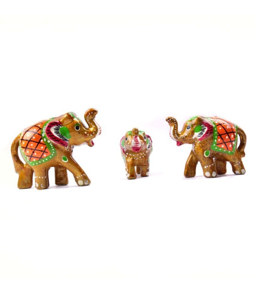 Fashion Art Brown Paper Mache Figurines - Pack of 1