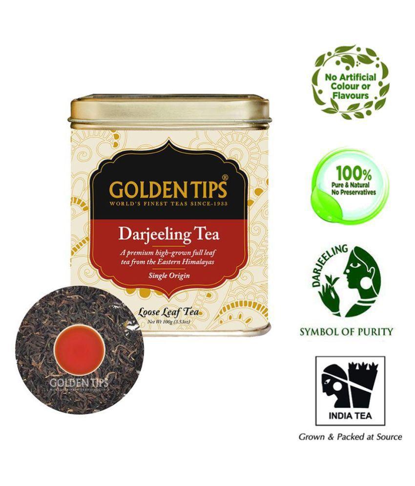 Golden Tips Darjeeling Black Tea Loose Leaf 100 gm
