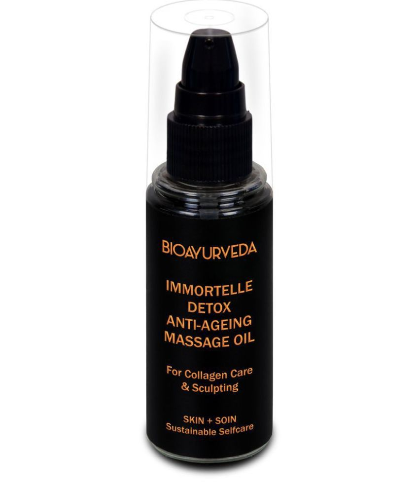 BioAyurveda Immortelle Detox Anti-Aging Massage Oil