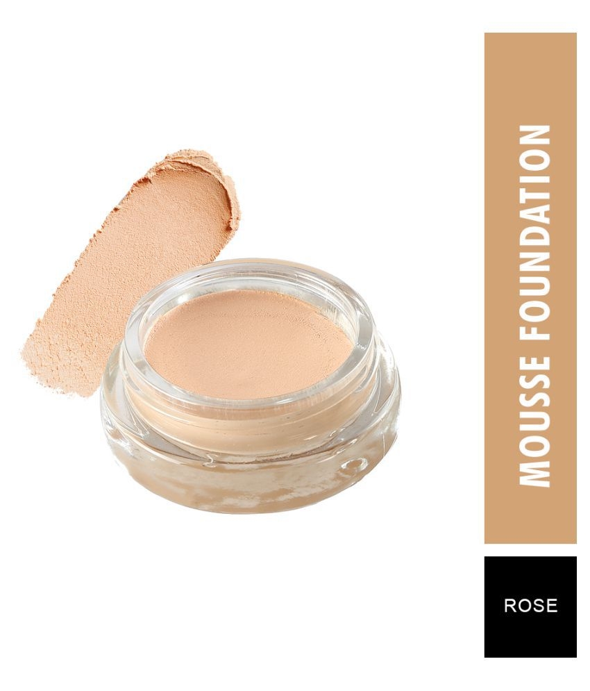 Swiss Beauty Velvet Matte Mousse Foundation (Rose), 20gm