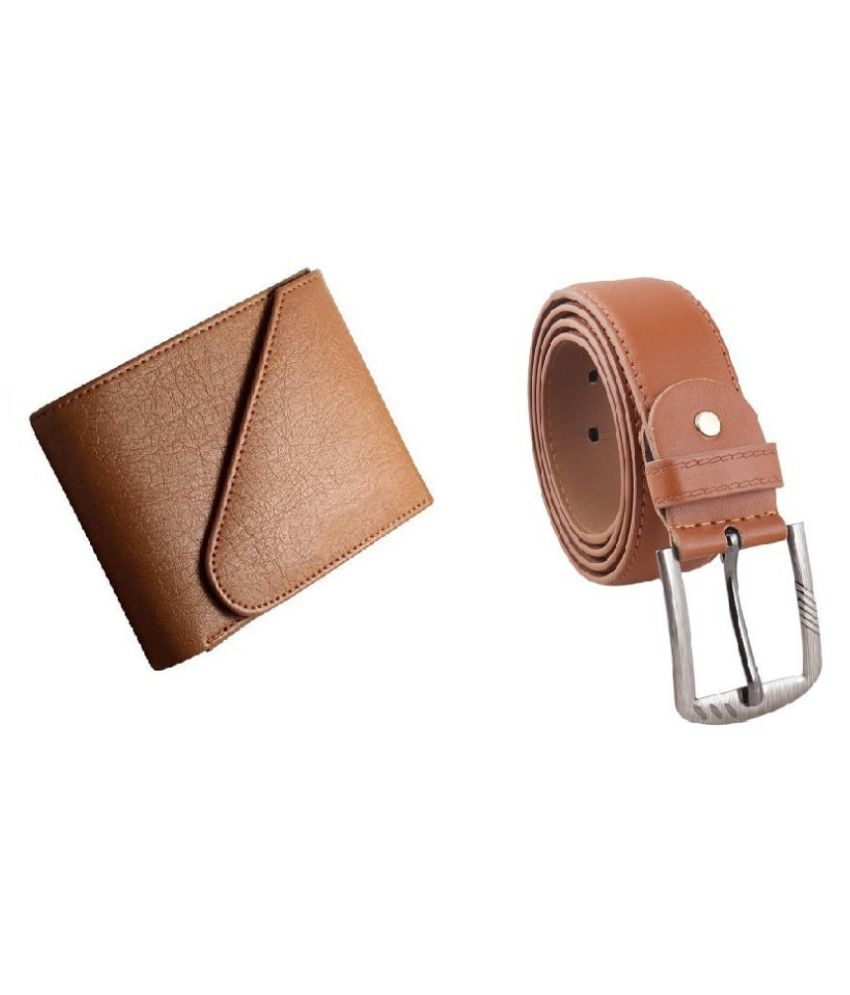 LIME WEAR PU Brown Casual Regular Wallet