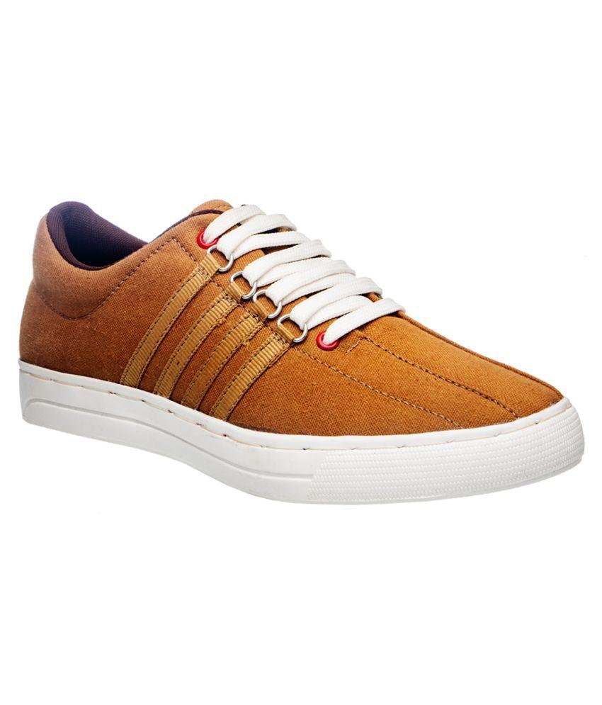 Khadim's Tan Casual Shoes