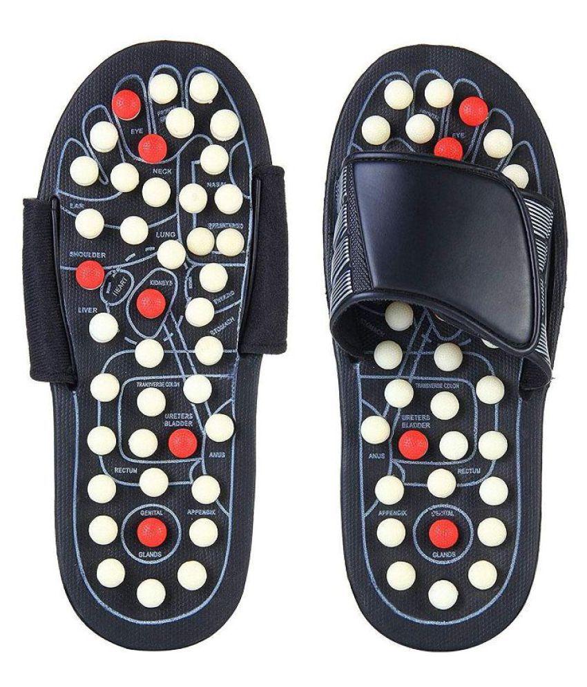 Play Run Paduka Yoga Slipper Foot Massager Acupressure - Size 6