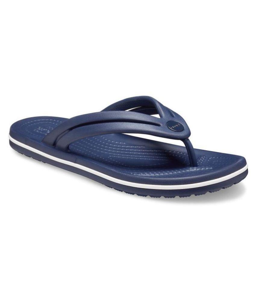Crocs Blue Slippers