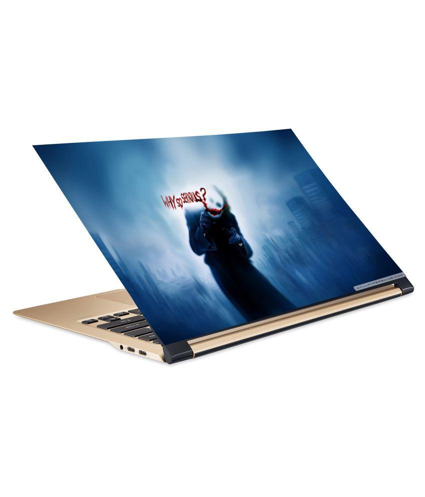 Jocker10 Laptop Skin 15.6 Vinyl Vinyl Laptop Decal 15.6