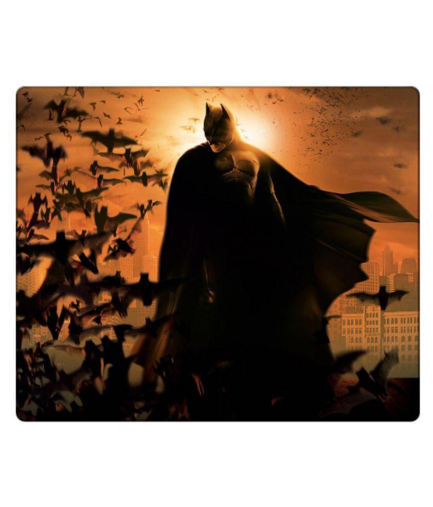 Pujya designs Batmen print  perfect grip   Mouse pad