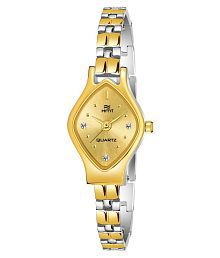 Hemt Stainless Steel Tonneau Womens Watch