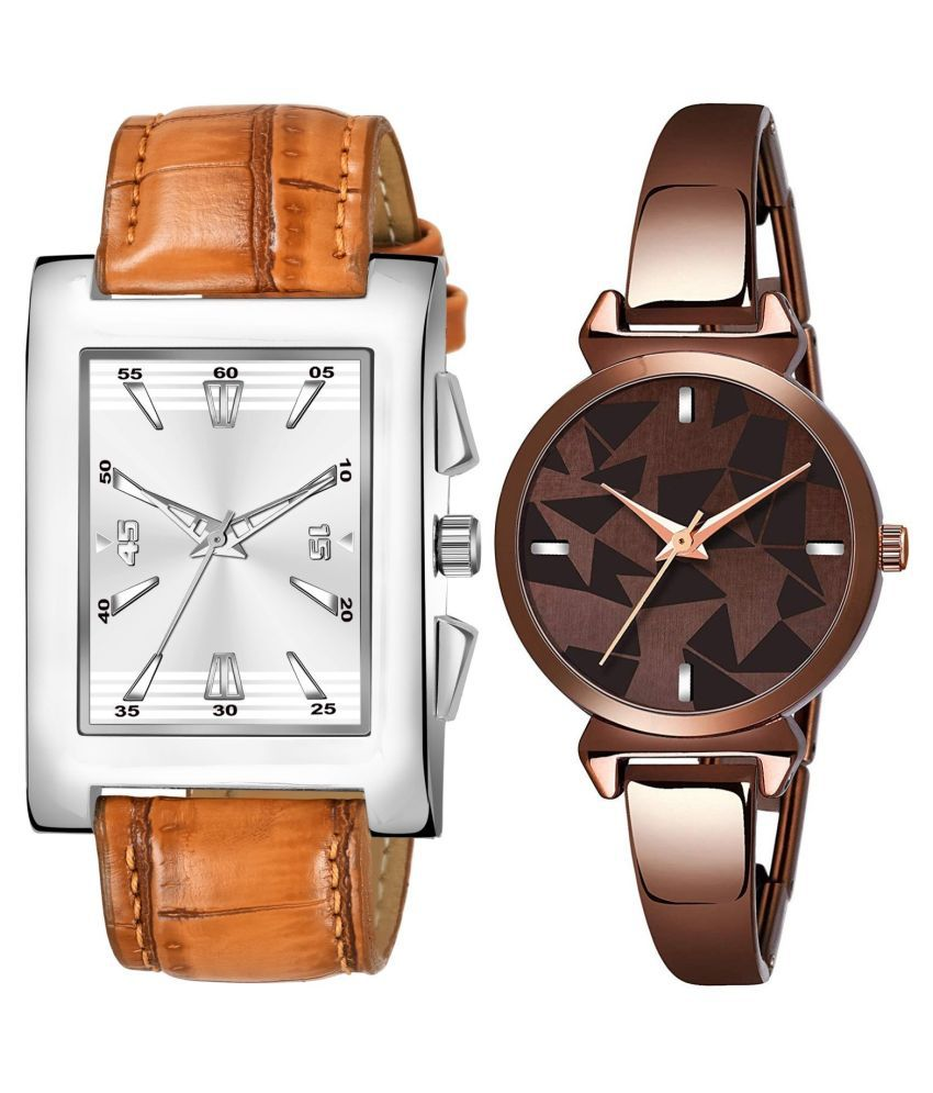VRUTTI ENTERPRISE K_8126_L_720 EXCLUSIVE LEATHER STRAP ANALOG QUARTZ WATCH FOR MEN AND WOMEN
