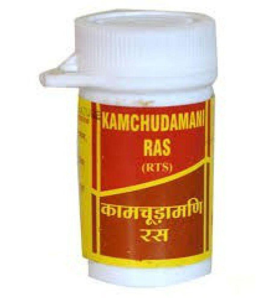 Ayurvedic Vyas Kamchudamani Ras Tablet 1 gm Pack Of 2