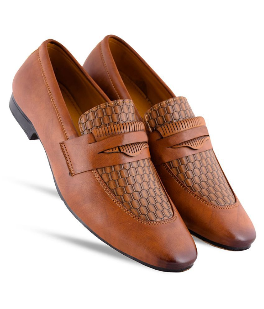 Atton Office Beige Formal Shoes