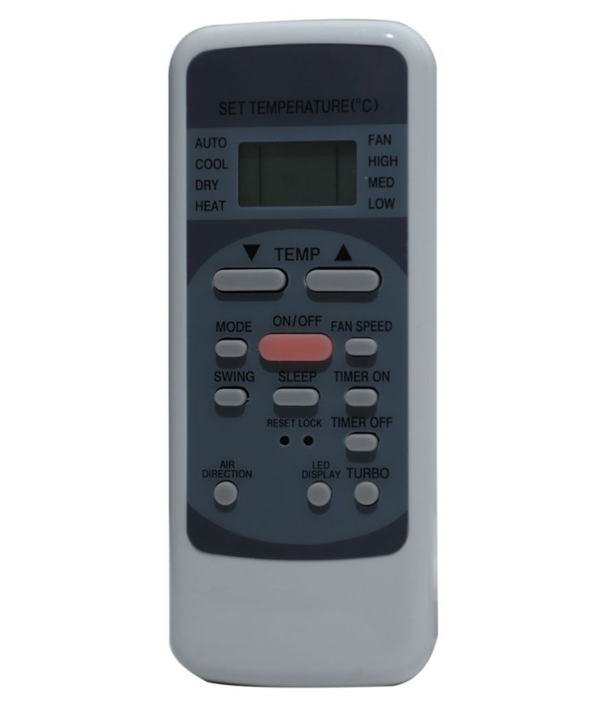 Upix 78 AC Remote Compatible with Microcool AC