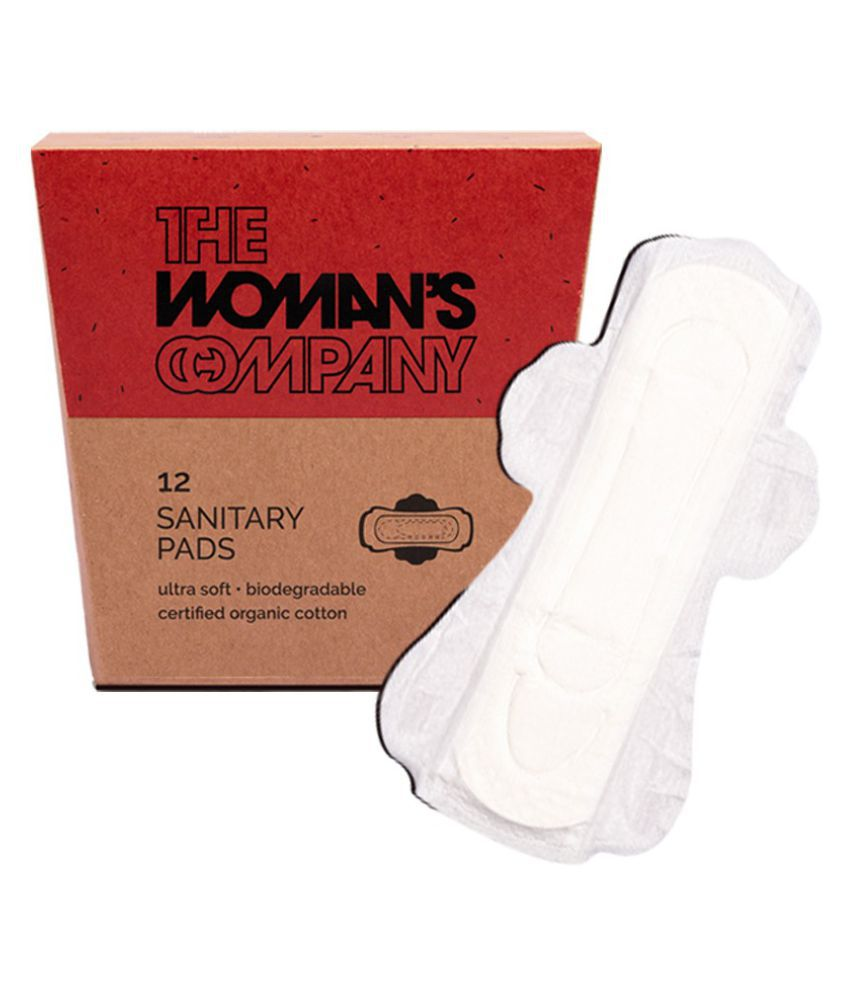 The Woman's Company Regular 12 Sanitary Pads