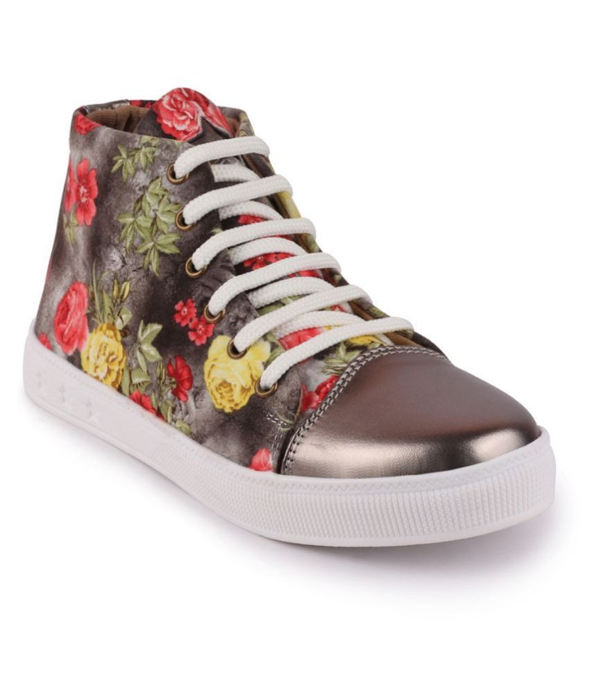 Fausto Gray Casual Shoes