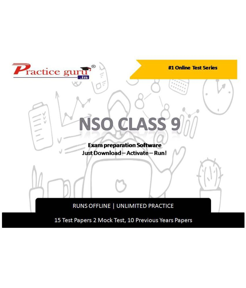 Practice Guru  15 Test 2 Mock Test,10 Previous Years Papers  for 9 Class NSO Exam  Online Tests