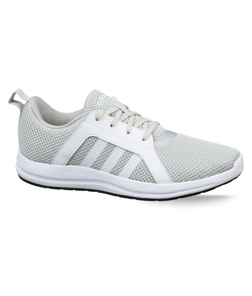 Adidas Silver Running Shoes