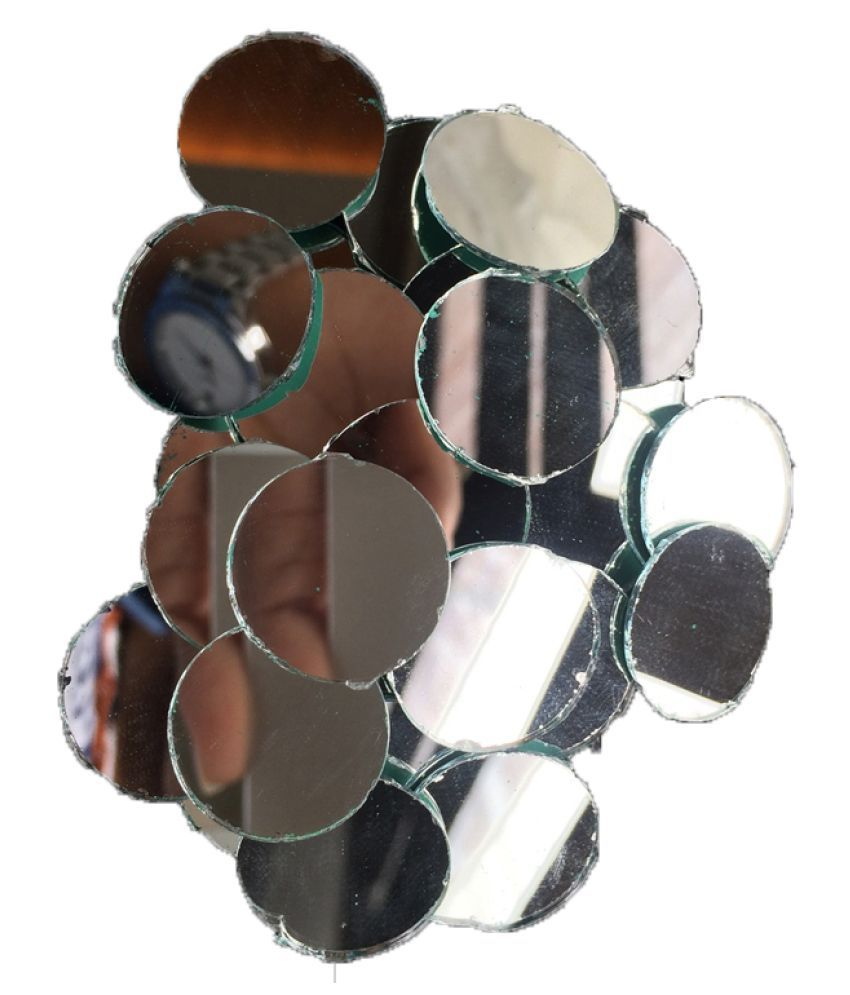 20mm 200pcs Round Shisha Mirrors for Wall Decals & School Art Projects