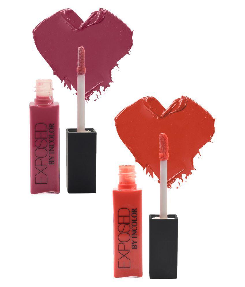 Incolor Lip Gloss Stick 5+16 Multi SPF 12 Pack of 2 6 mL