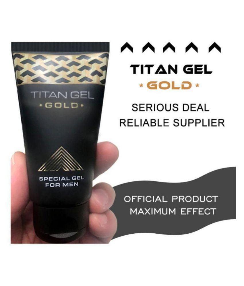 Tit@n Gel Gold 50 ml for Delay Ejaculation