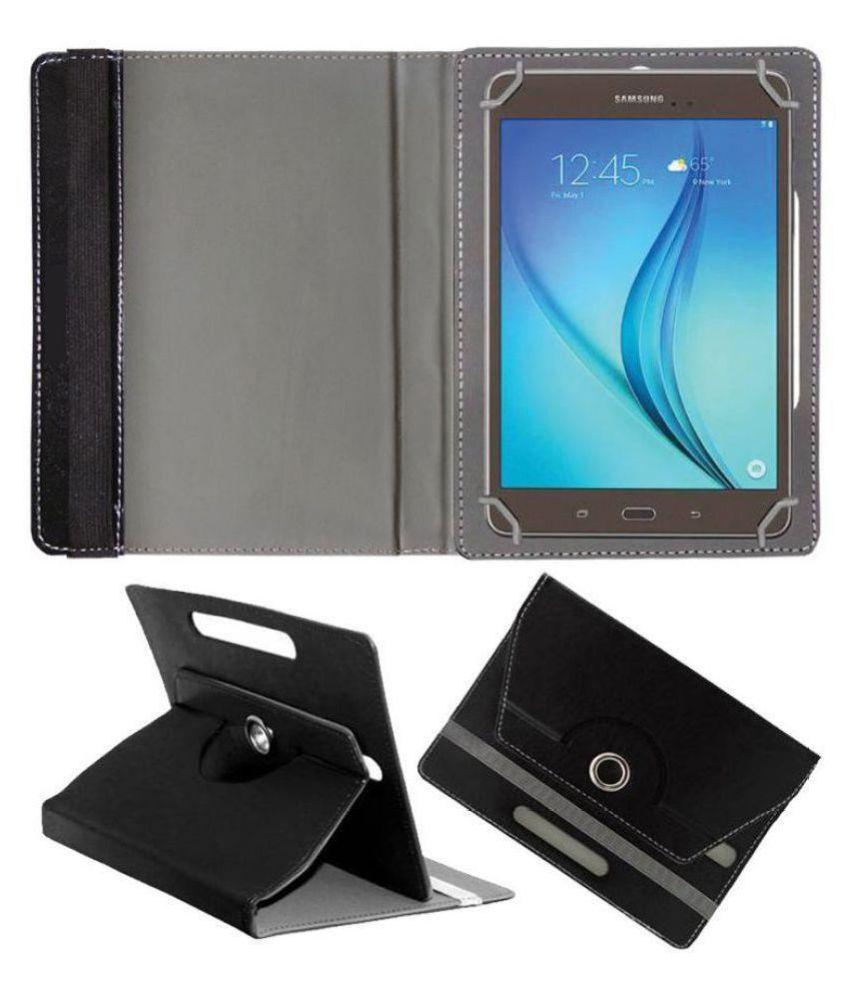 Samsung Galaxy Tab E 9.6 #034; T560 Flip Cover By Cutesy Black