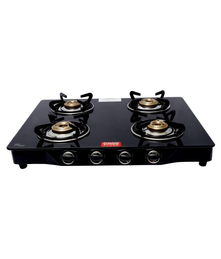 Good Flame 4b gas stove MS regular with cast iron burner