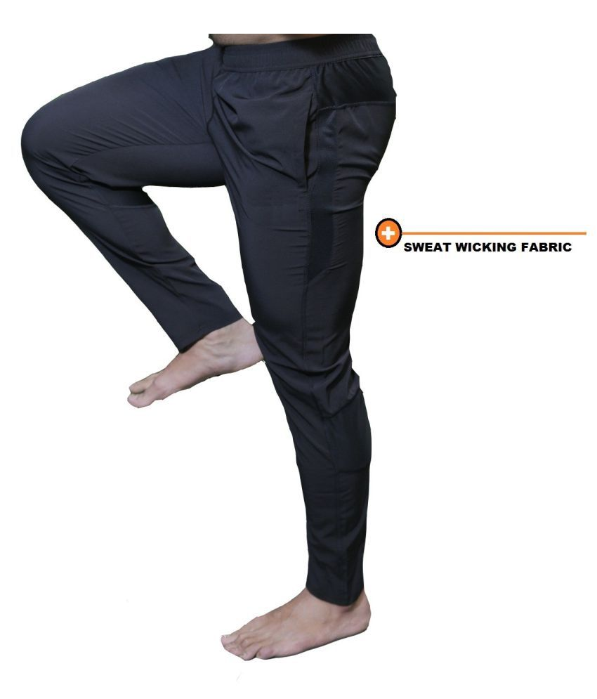 Gym And Running Stretch Trackpants For Men's