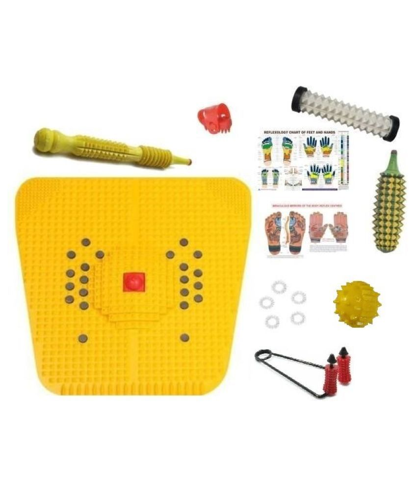 ACS Acupressure Massager Tools Kit With Reflex. Chart: Buy ...
