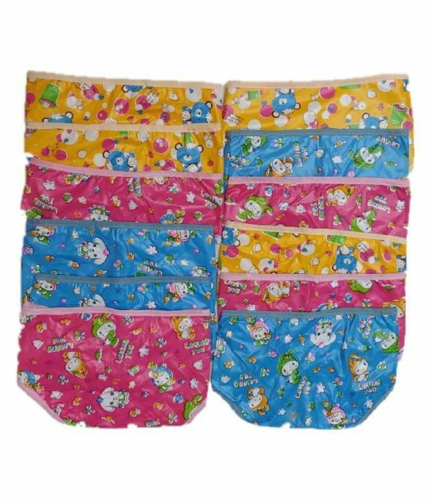 Baby new born washable reusable hosiery cloth langot nappy double layer diaper/ langot 0 6 month  multicolour  pack of 24