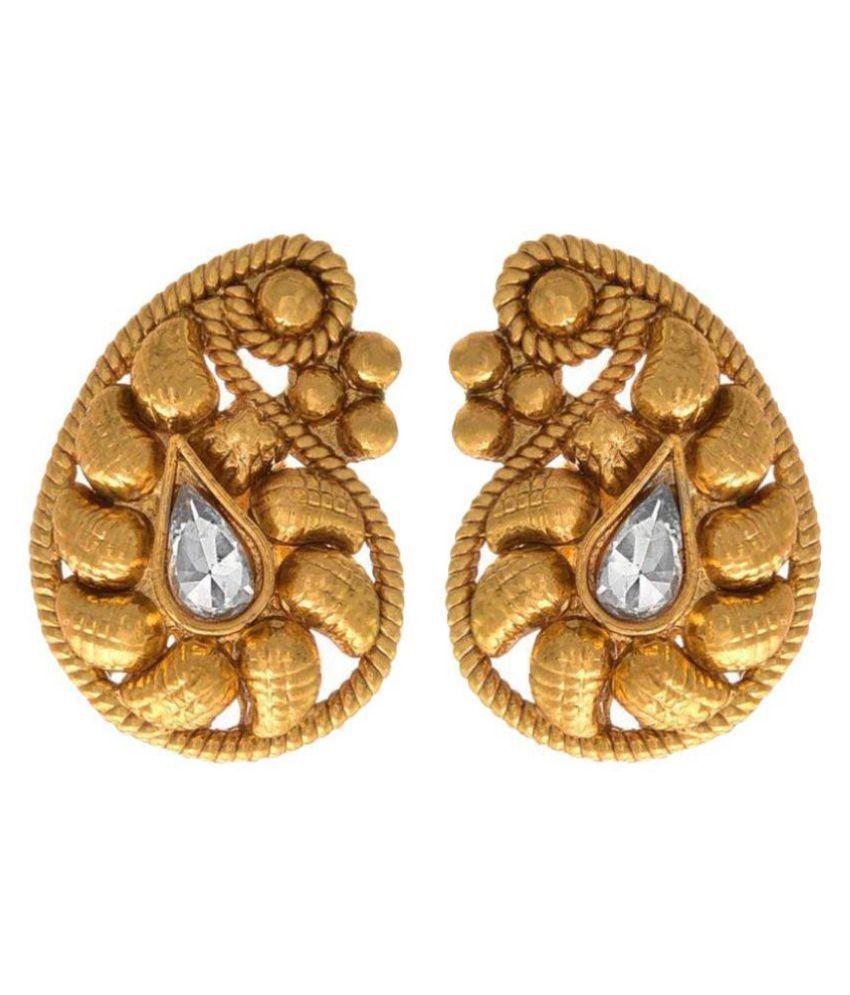 JFL - Jewellery For Less Golden Studs