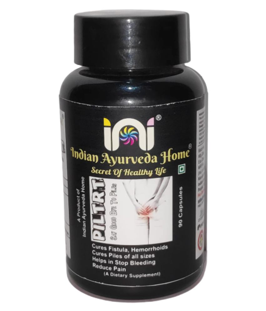 INDIAN AYURVEDA HOME PILTRT FOR PILES Capsule 90 no.s Pack Of 1