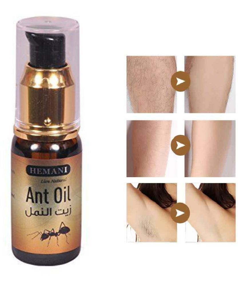 Hemani Live Natural Hair Removal Oil Hair Removal 30 mL