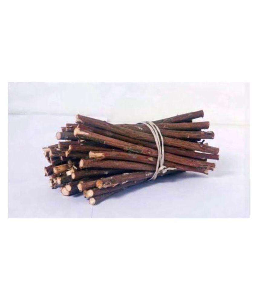 Xetomos Organic Babool Datun sticks Raw Herbs 50 no.s