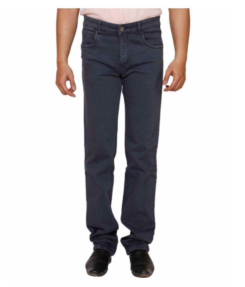 PRANKSTER Grey Regular Fit Jeans