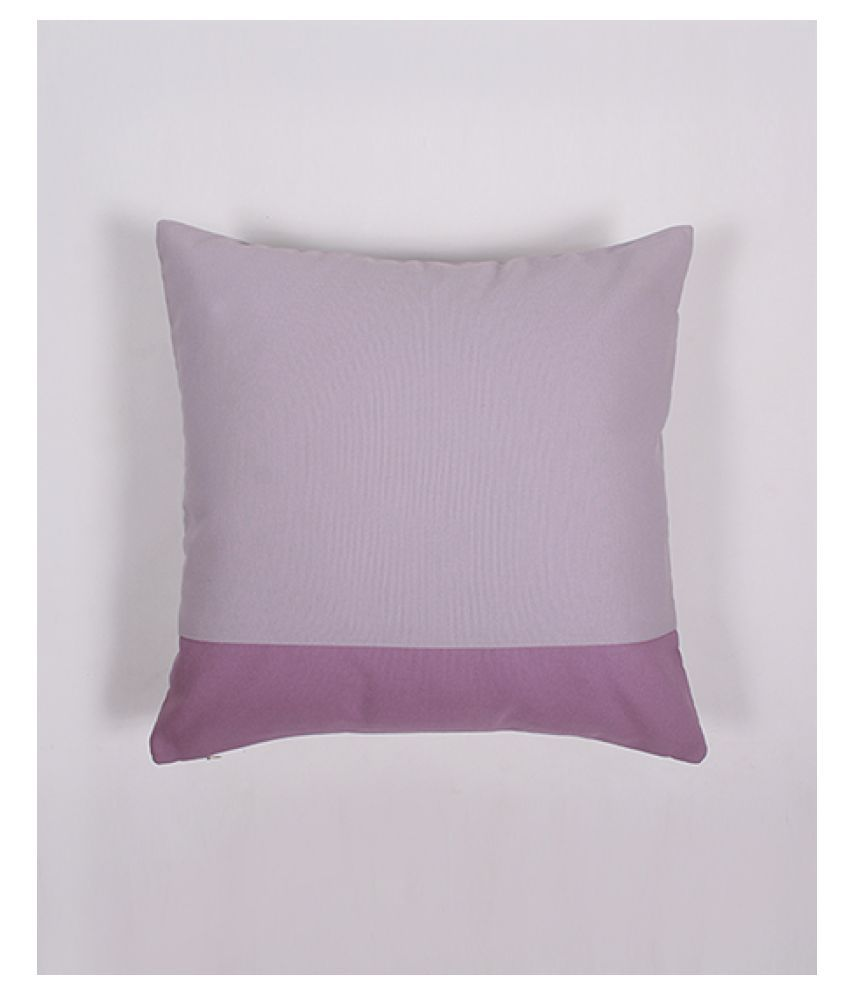 Zeba Single Cotton Cushion Covers 40X40 cm (16X16)