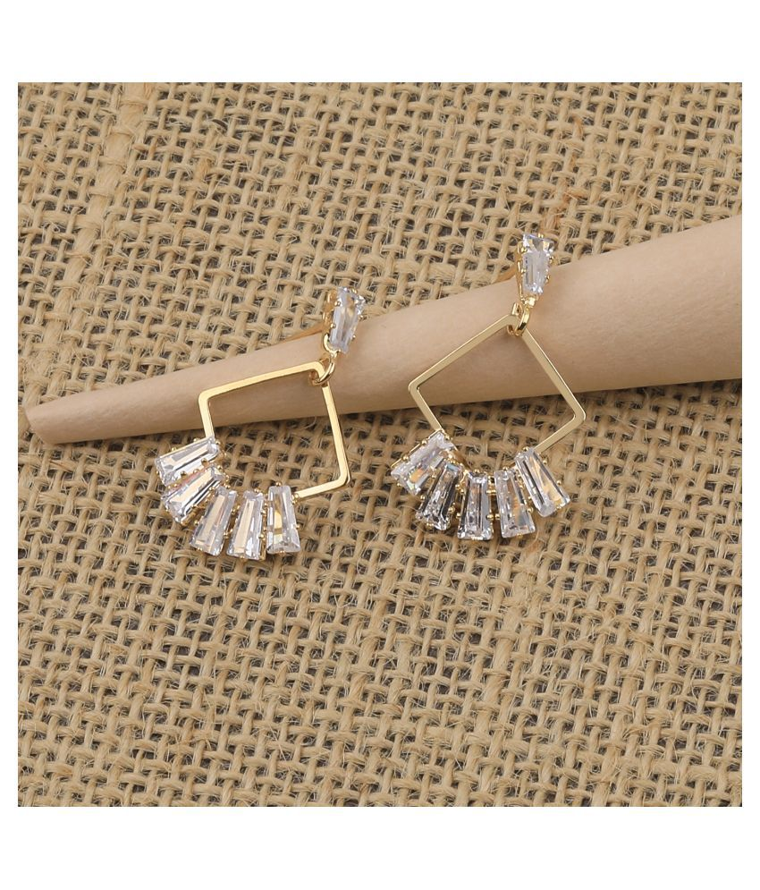 Gold Plated Fashion Stylish Stud Earring For Women Girl