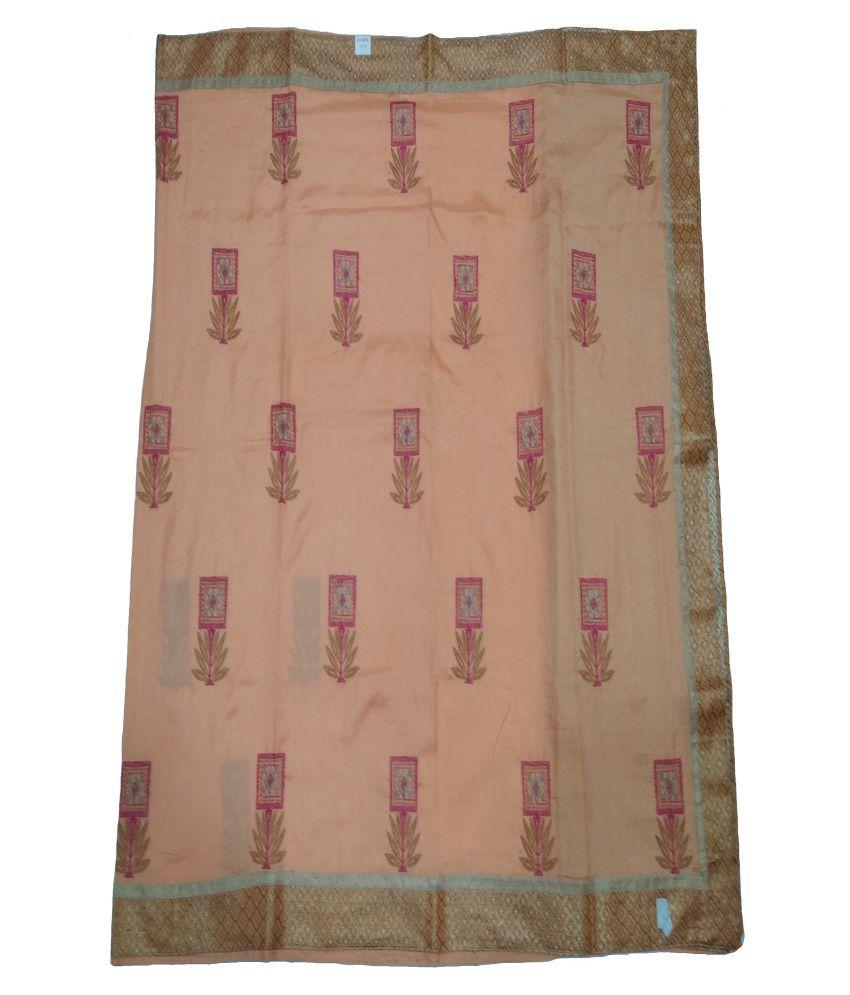 Naritwa Pink Art Silk Saree