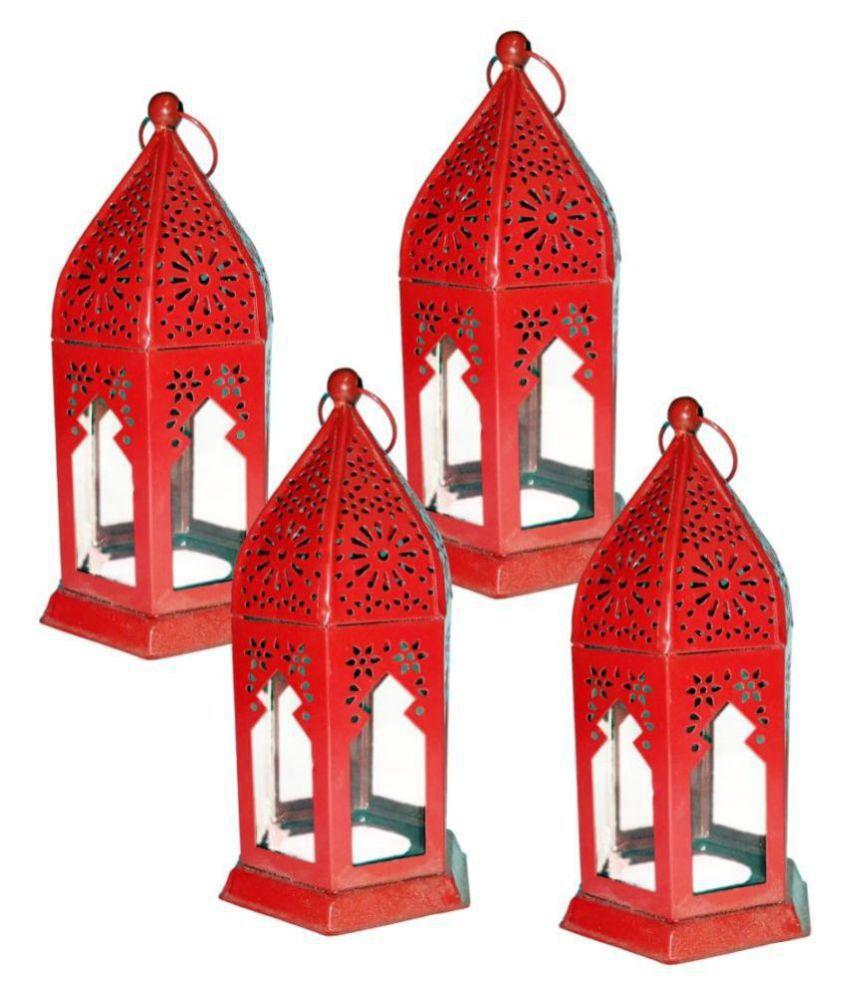 designer international Moksha Hanging Lantern Hanging Lanterns 17 - Pack of 4