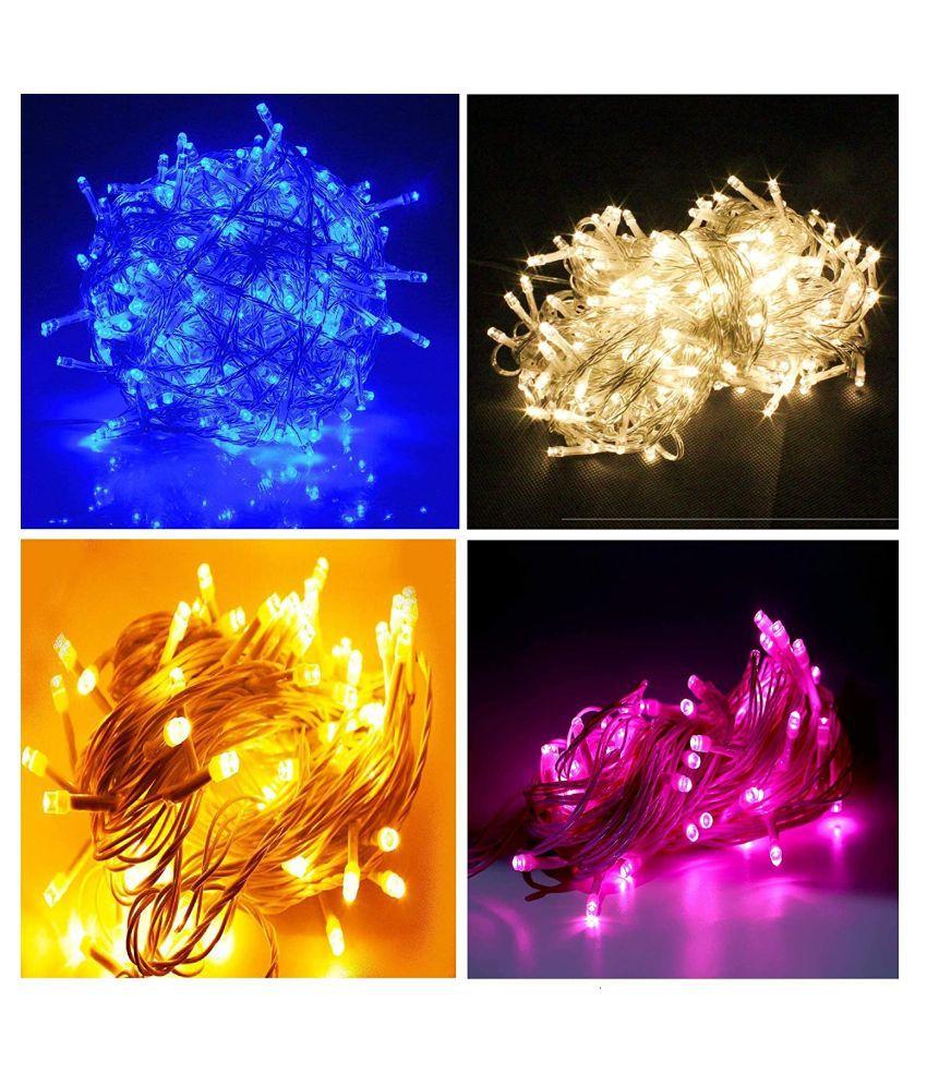 Pack of 4 Rice Lights From Navkar Enterprises String Lights Multi