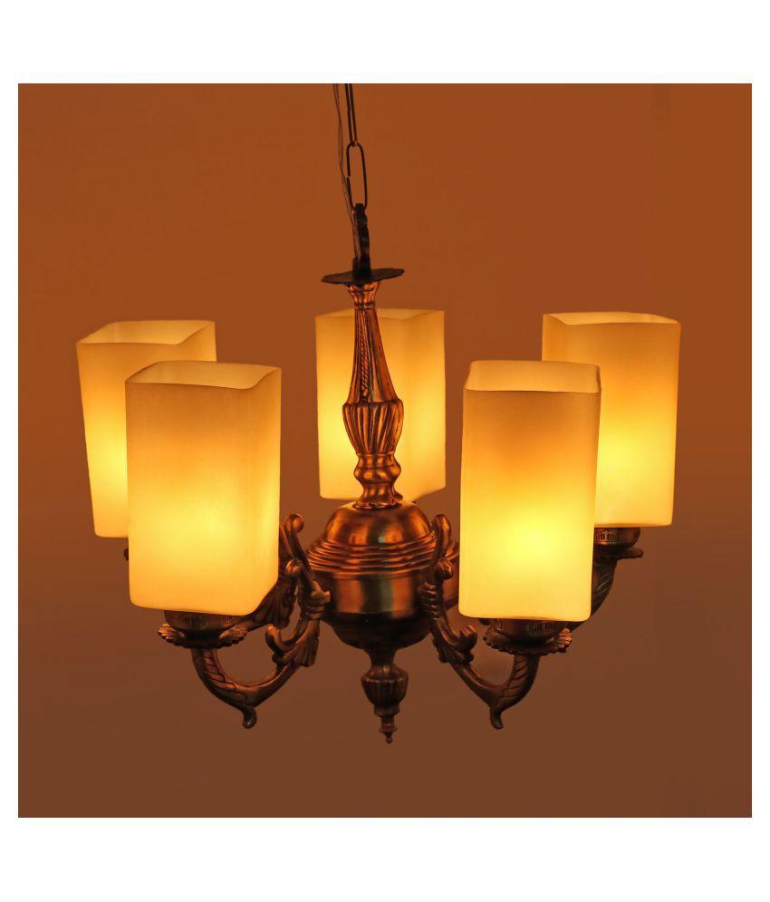 AFAST Glass Decorative Lighting Pendant White - Pack of 1