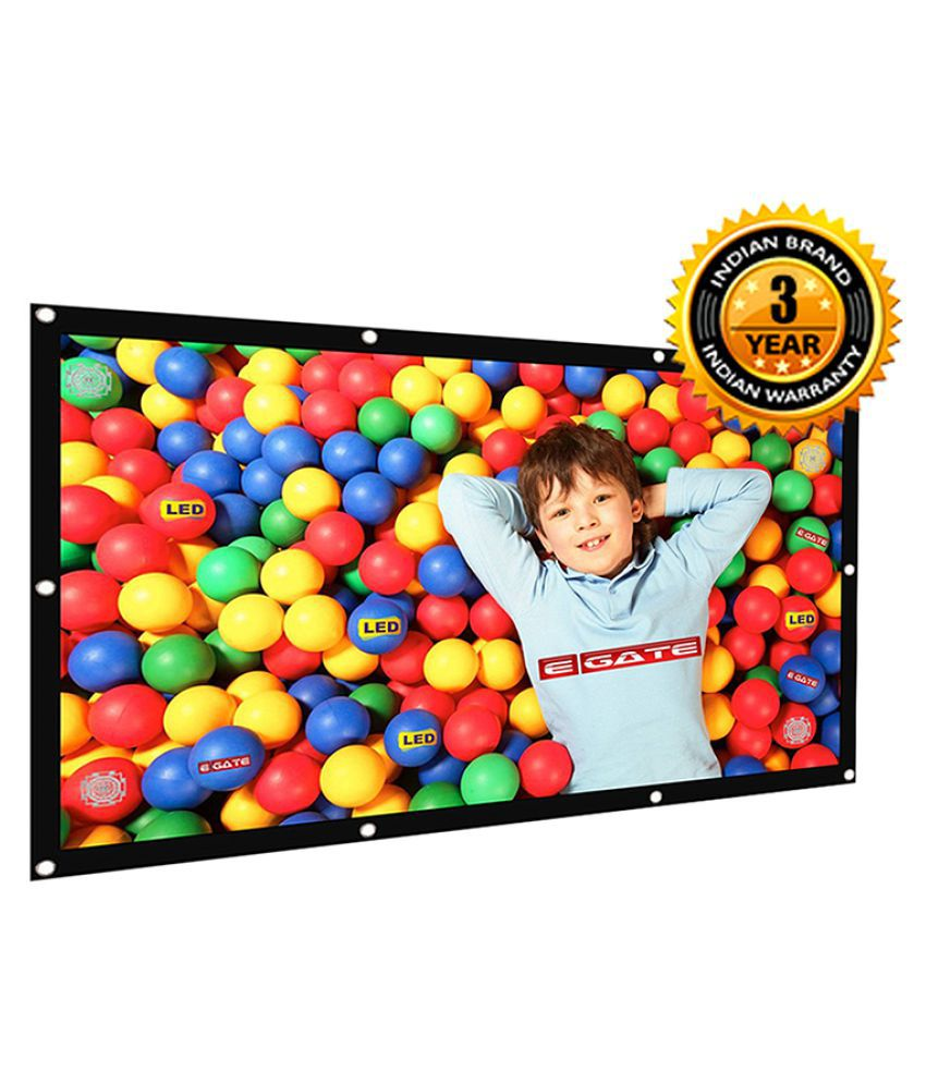 Egate Eyelet64 Fixed Frame Projector Screens