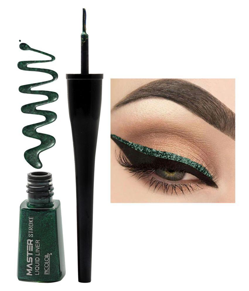 Incolor Liquid Eyeliner Green 6 mL