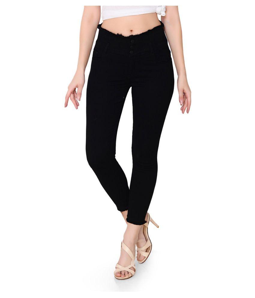 FACTS Denim Lycra Jeans - Black