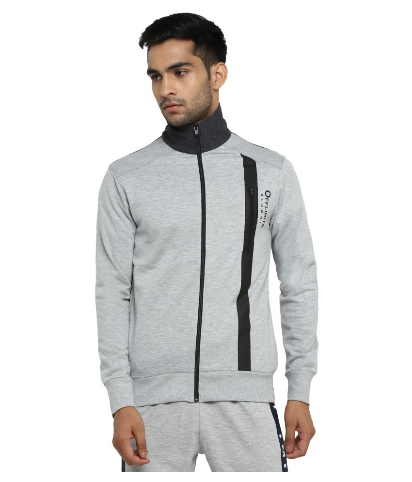 OFF LIMITS Grey Polyester Jacket