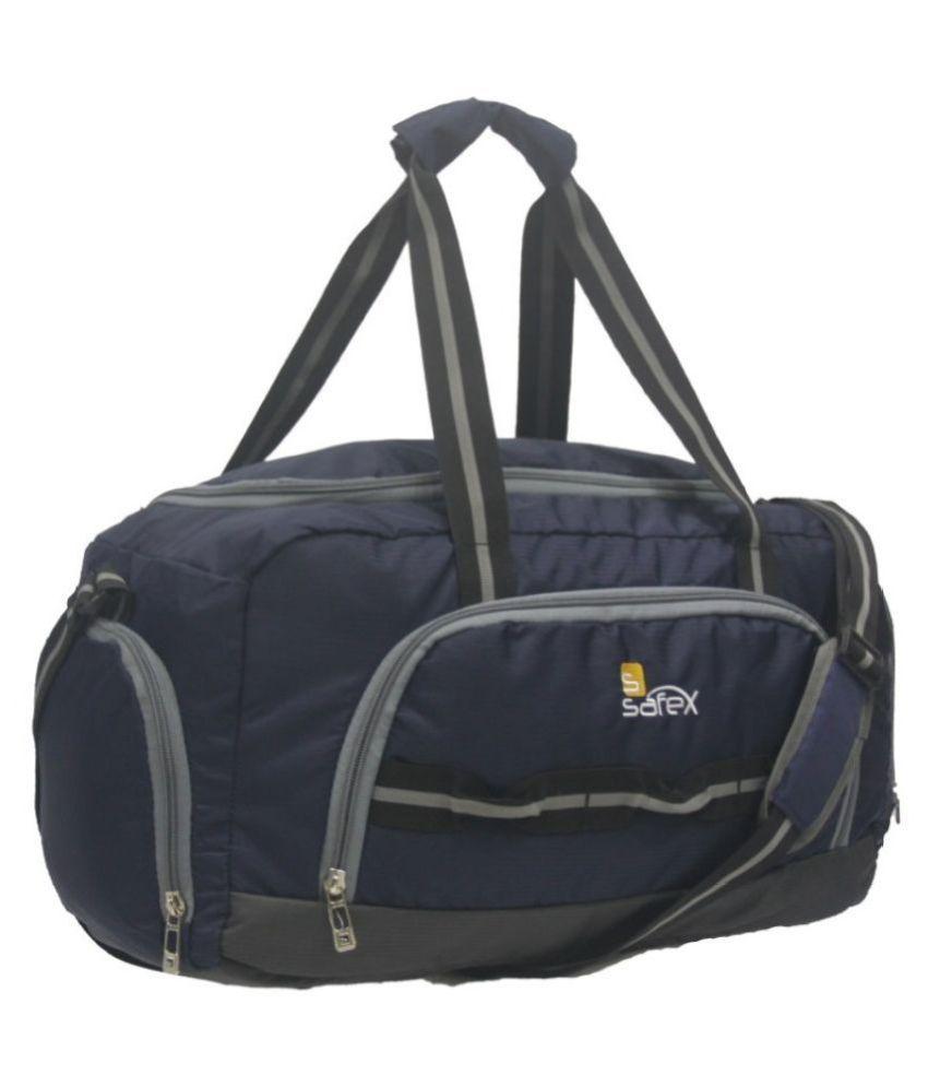 safex Blue S Duffle Bag